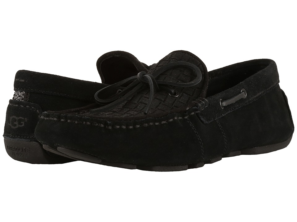 UGG - Everton Rivera Emboss (Black) Men's Shoes