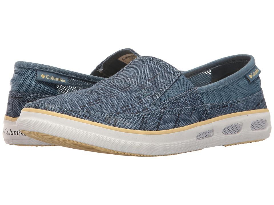 Columbia - Vulc N Vent Slip Outdoor (Steel/Cornstalk) Women's Shoes
