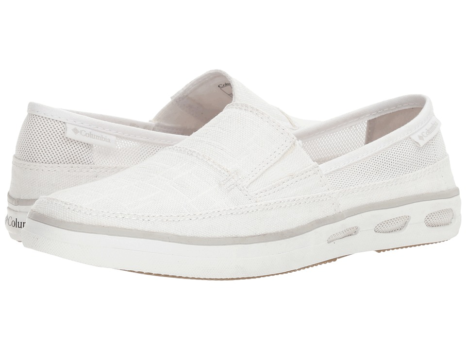 Columbia Vulc N Vent Slip Outdoor (White/Cool Grey) Women
