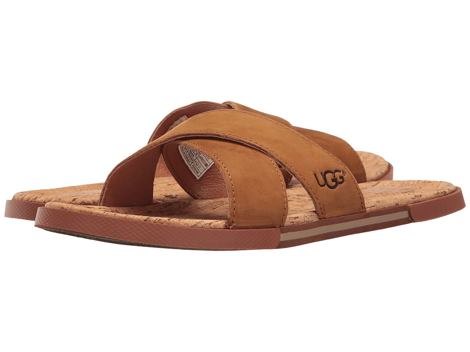 UGG - Ithan Cork (Tamarind) Men's Sandals
