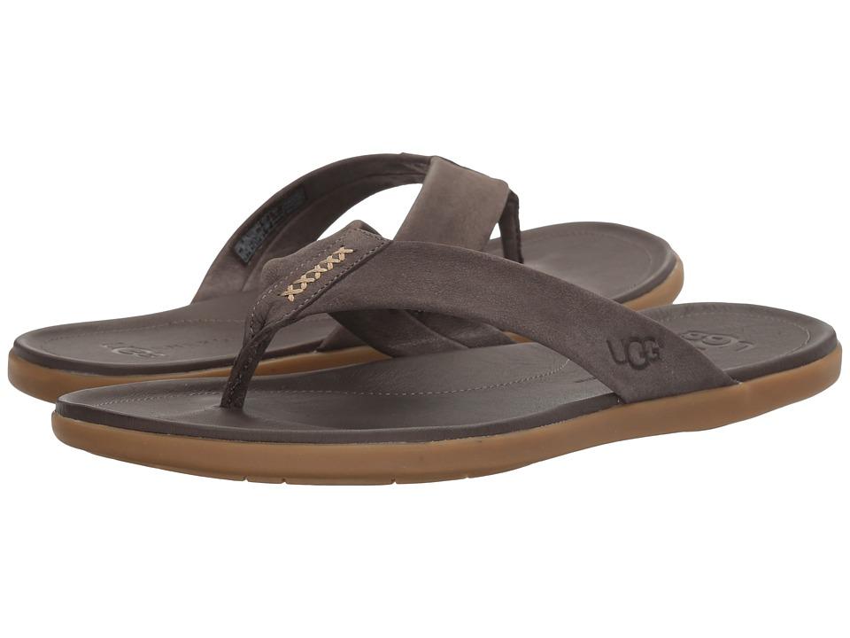 UGG - Delray (Charcoal) Men's Sandals