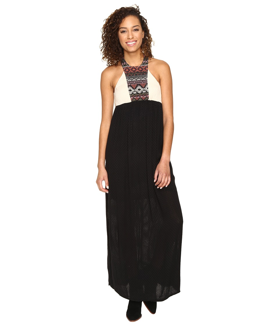 Rip Curl Constellation Maxi Dress (Black) Women