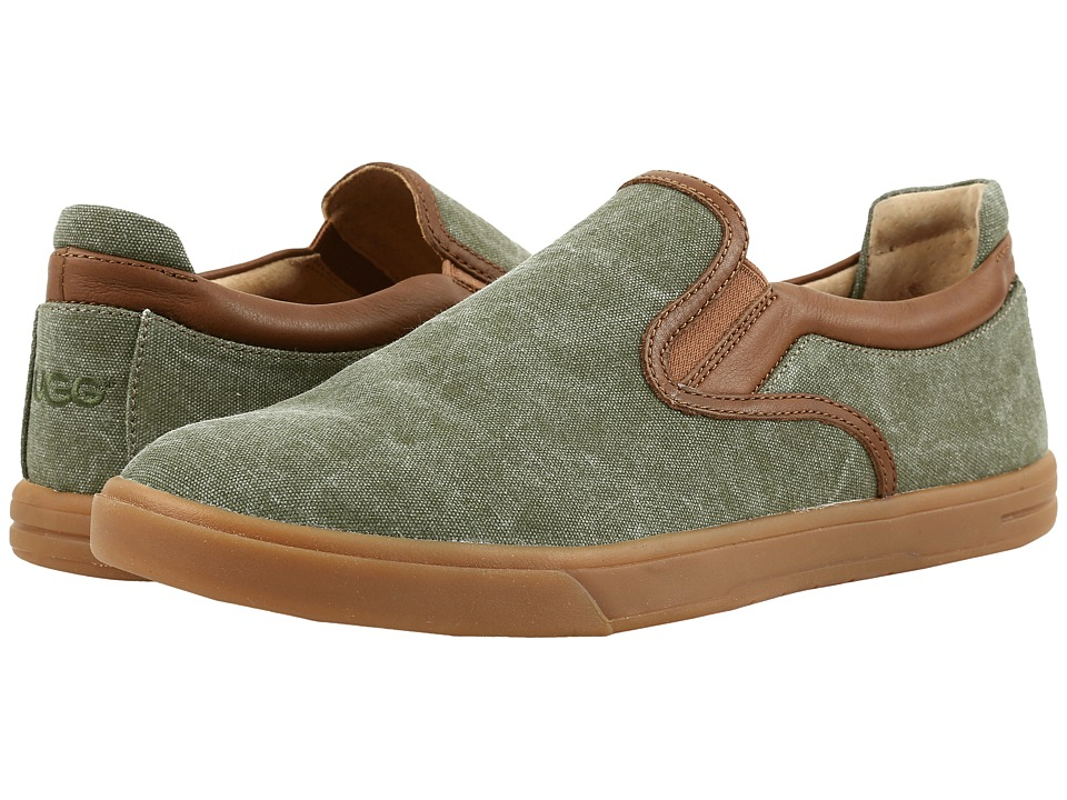 UGG Mateo Canvas (Burnt Olive) Men