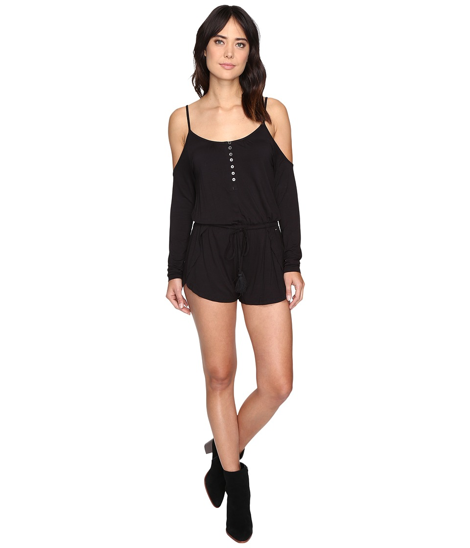 Rip Curl - Stevie Romper (Black) Women's Jumpsuit & Rompers One Piece