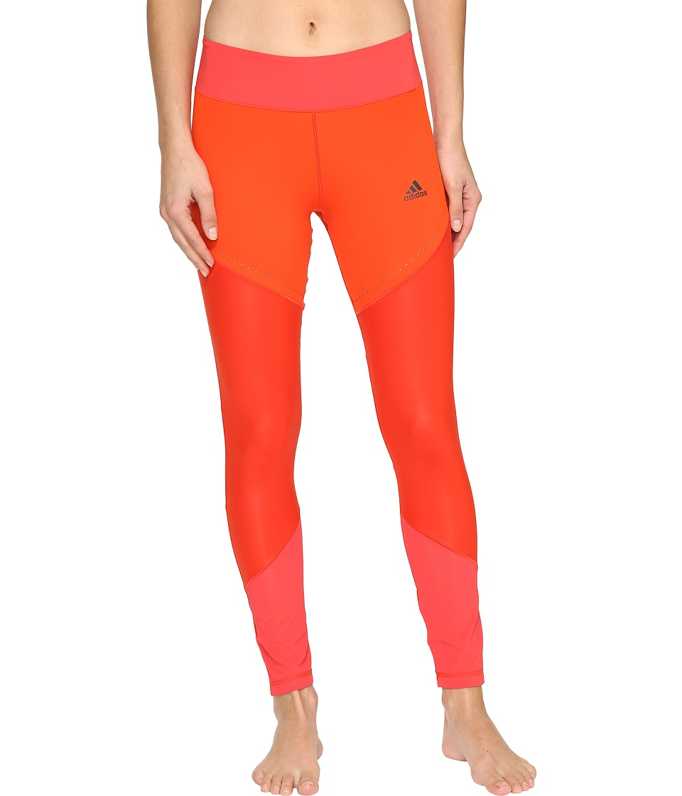 adidas - Wow Drop 1 Tights (Core Red S17/Core Pink S17) Women's Casual Pants