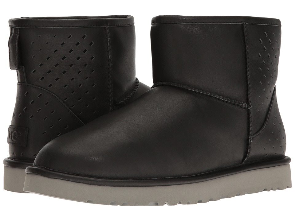 UGG - Classic Mini Gradient Perf (Black) Men's Boots