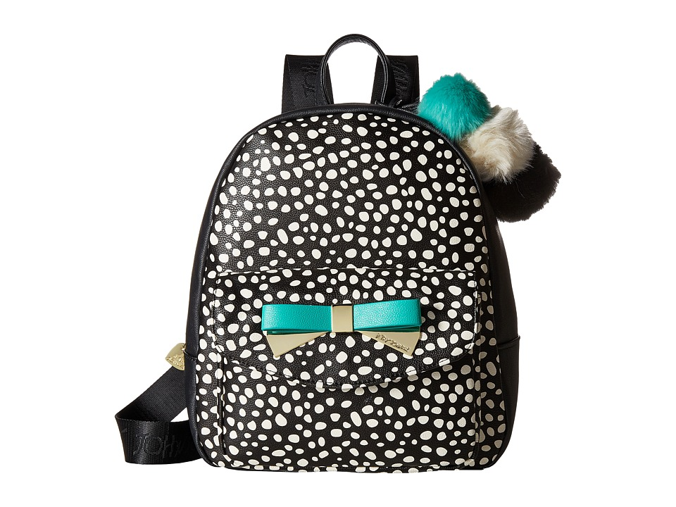 Betsey Johnson - Front Pocket Backpack (Spot) Backpack Bags