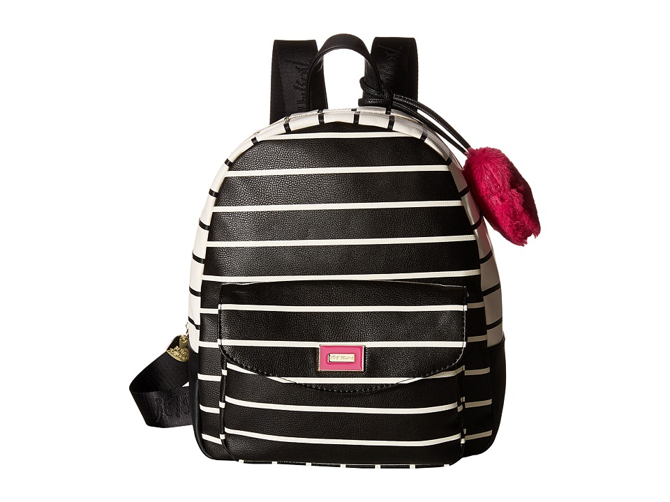Betsey Johnson - Studded Backpack (Blush) Backpack Bags