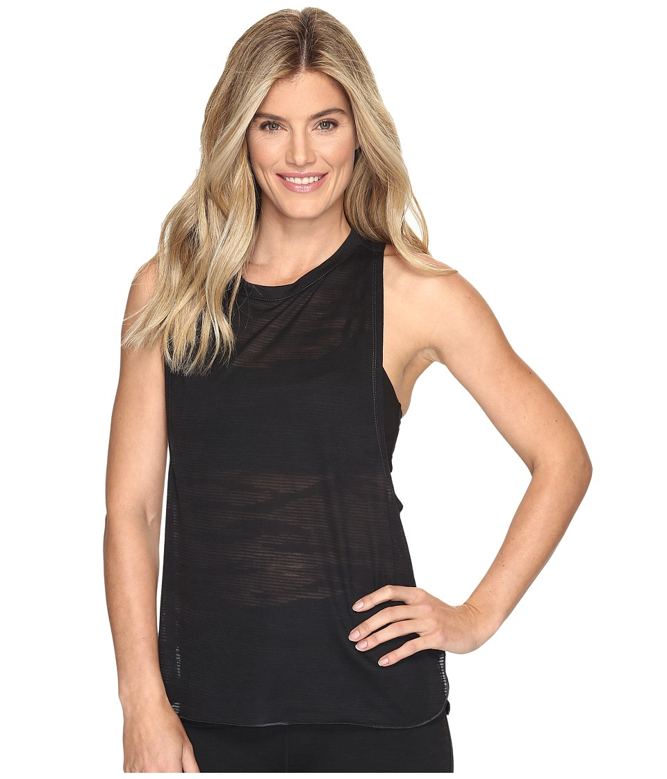 adidas - Boxy Tank - Aeroknit (Utility Black F16/Black) Women's Sleeveless