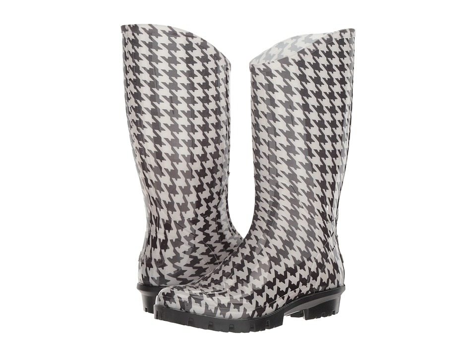Columbia - Rainey Tall Print (Cool Grey/Wild Salmon) Women's Rain Boots