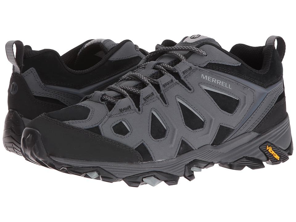 Merrell Moab FST Leather (Black/Granite) Men's Shoes