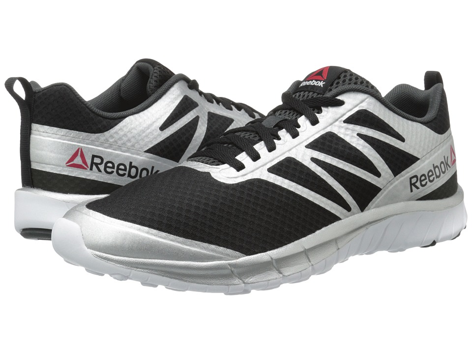Reebok - SoQuick (Black/Gravel/Silver/White) Men