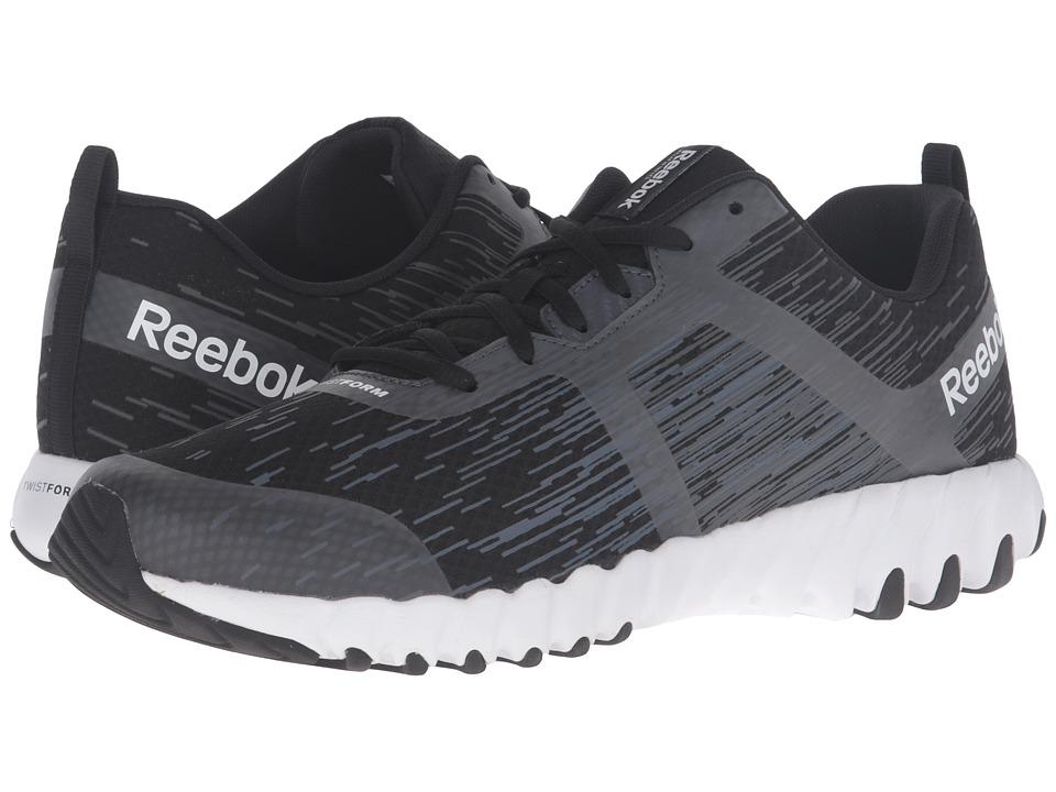 Reebok - Twistform Force (Black/Gravel/Graphite) Men's Shoes