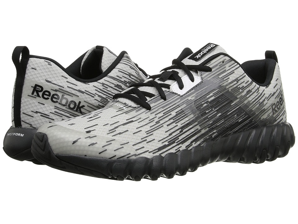 Reebok - Twistform Force (Steel/Black/Gravel) Men's Shoes