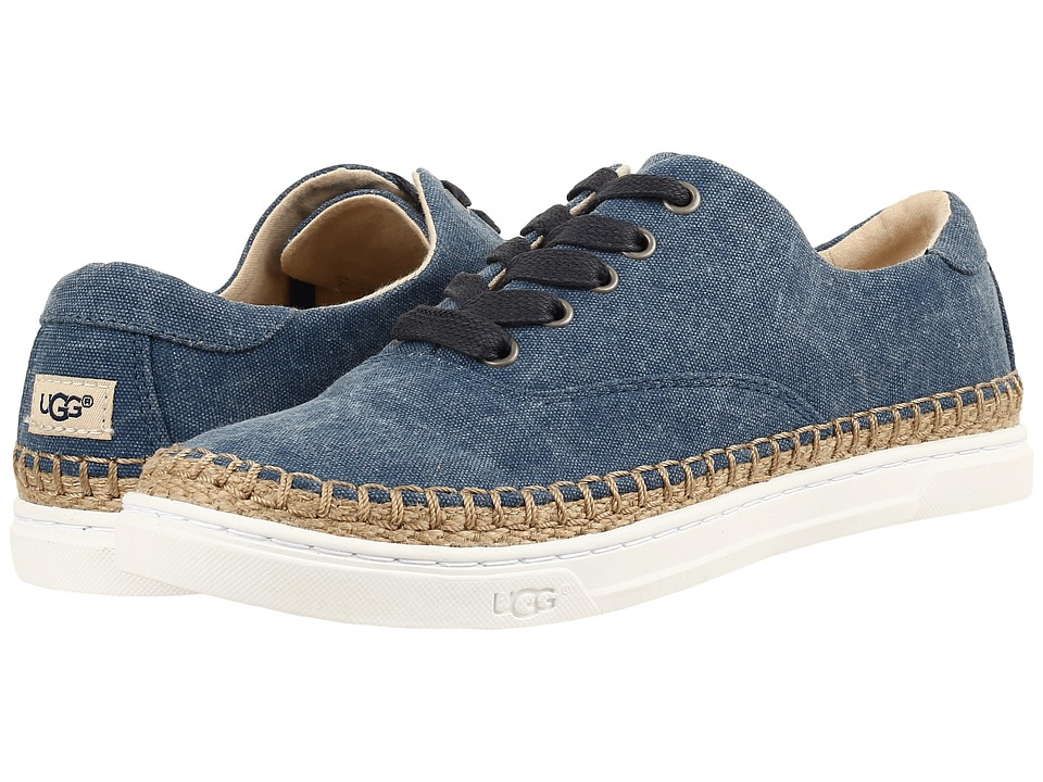 UGG - Eyan II Canvas (Navy) Women's Shoes