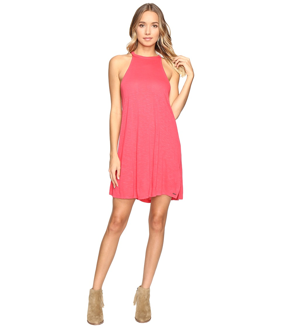 Roxy - Summer Breaking Tank Dress (Geranium) Women's Dress