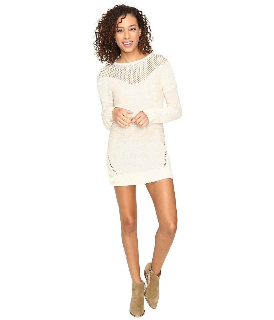 Roxy - Borrowed Time Sweater Dress (Pristine) Women's Dress