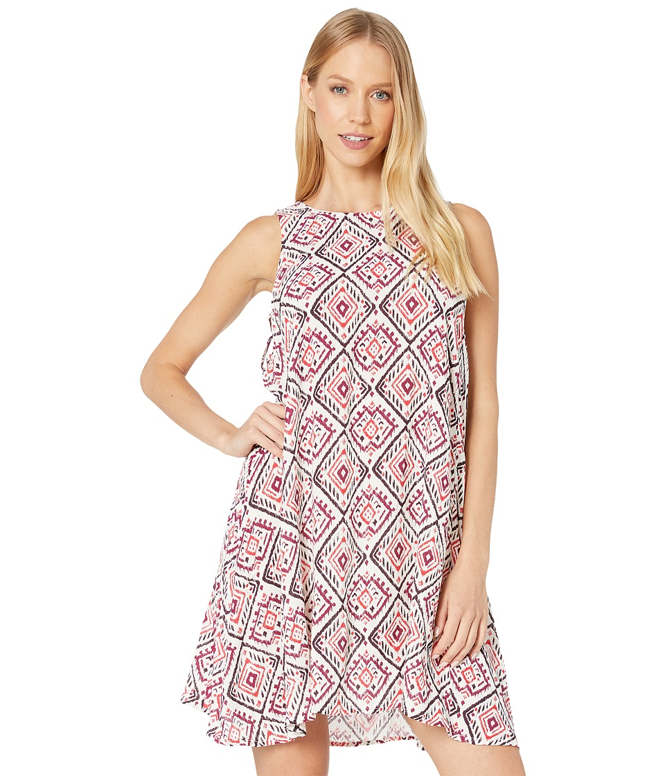 Roxy - Swing Capella Dress (Ikat Bali Combo Geranium) Women's Dress