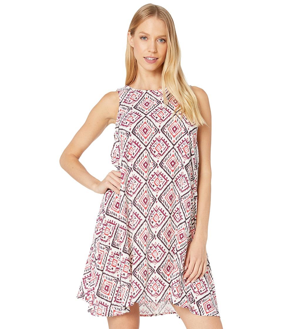 Roxy - Swing Capella Dress (Ikat Bali Combo Geranium) Women's Dress
