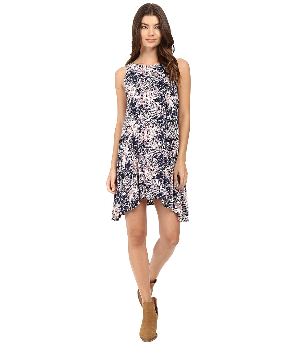 Roxy - Swing Capella Dress (Allo Americana Blue Print) Women's Dress