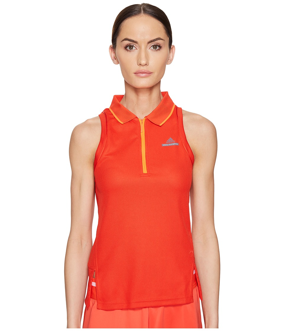 adidas - Stella Barricade Tennis Tank (Red) Women's Sleeveless