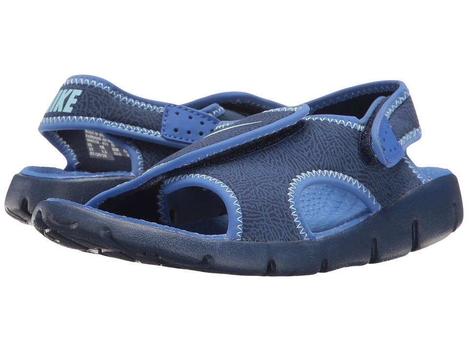 Nike Kids - Sunray Adjust 4 (Little Kid/Big Kid) (Binary Blue/Still Blue/Comet Blue) Boys Shoes