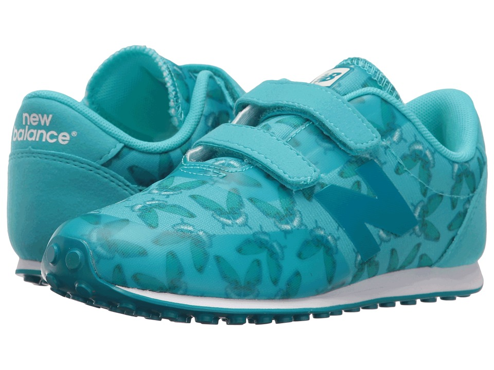New Balance Kids - KA410v1 (Infant/Toddler) (Teal/Butterfly) Girls Shoes
