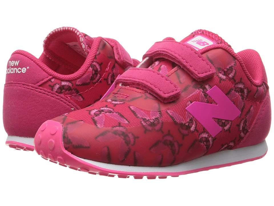 New Balance Kids - KA410v1 (Infant/Toddler) (Pink/Butterfly) Girls Shoes
