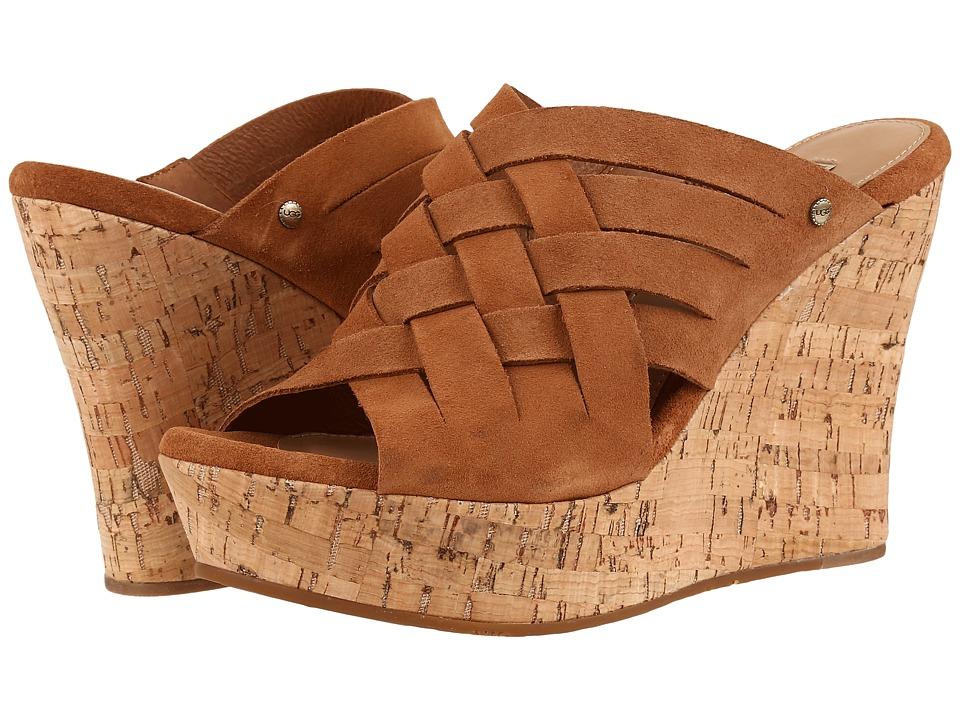 UGG - Marta (Chestnut) Women's Wedge Shoes