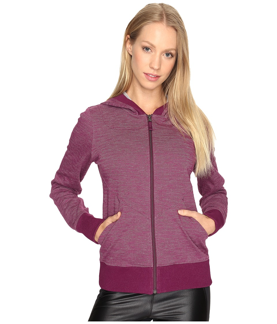Lole - India Hooded Cardigan (Plum Caspia) Women's Sweater