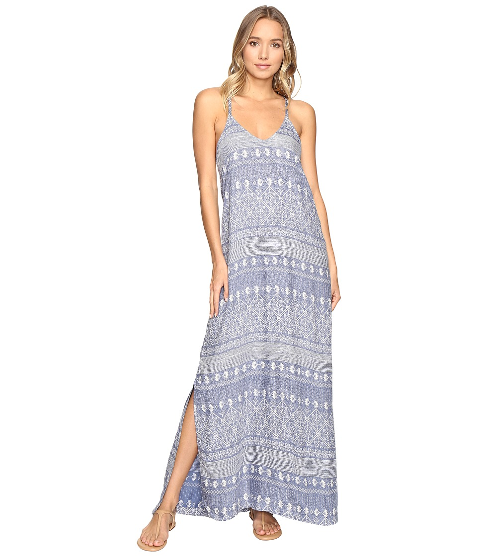 Roxy - Bentota Breeze Dress (Deep Ocean/Navy) Women's Dress