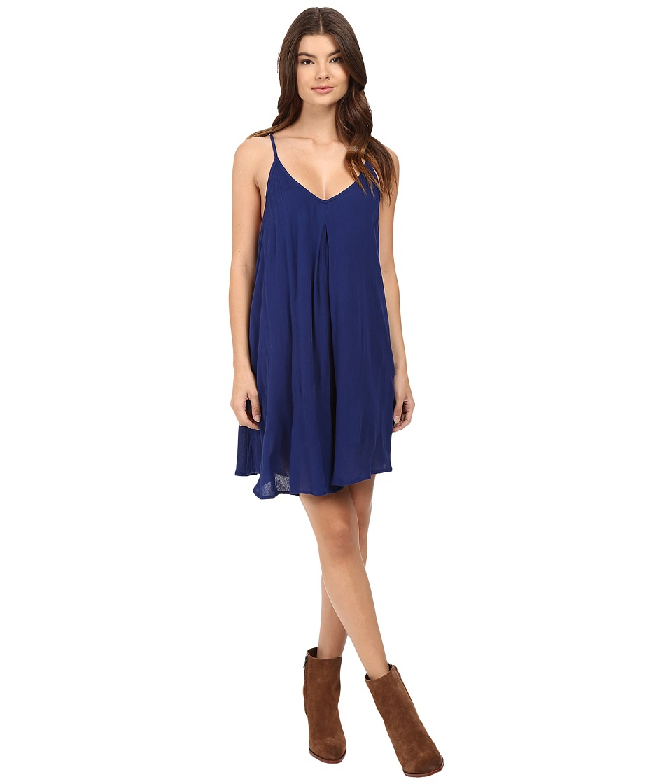 Roxy - Perfect Pitch Dress (Blue Print) Women's Dress