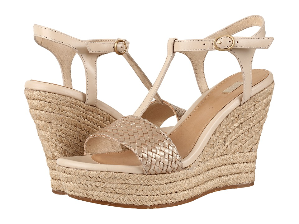 UGG - Fitchie II (Soft Gold) Women's Wedge Shoes