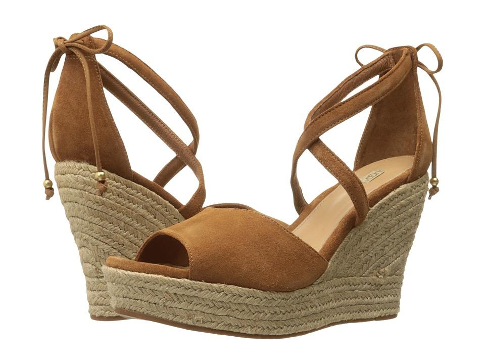 UGG - Reagan (Chestnut) Women's Wedge Shoes