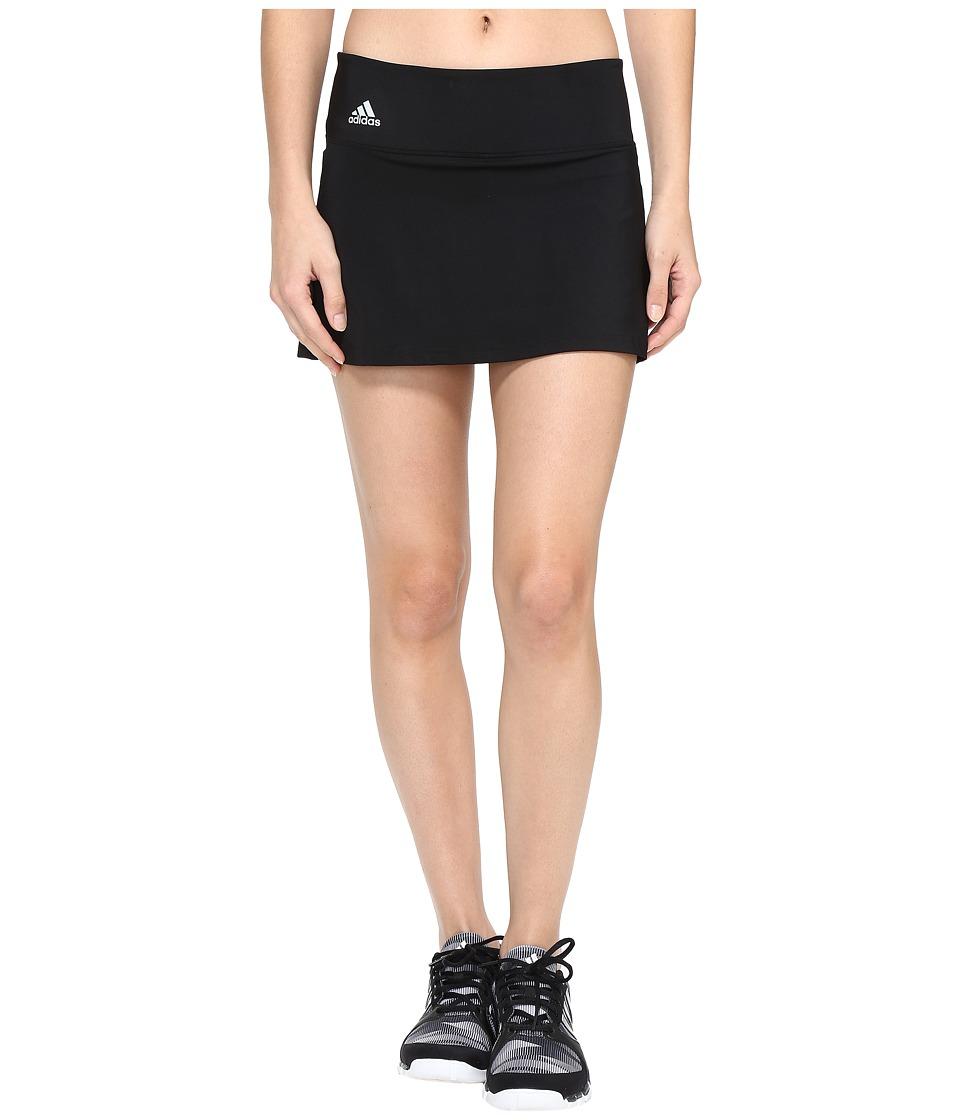 adidas Essex Skort (Black/Clear Onix) Women