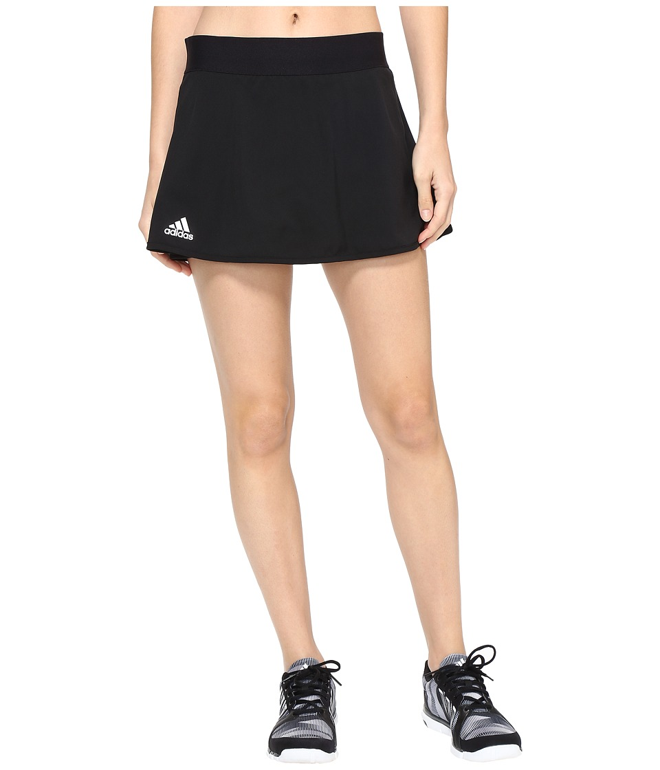 adidas - Club Skirt (Black/White) Women's Skirt