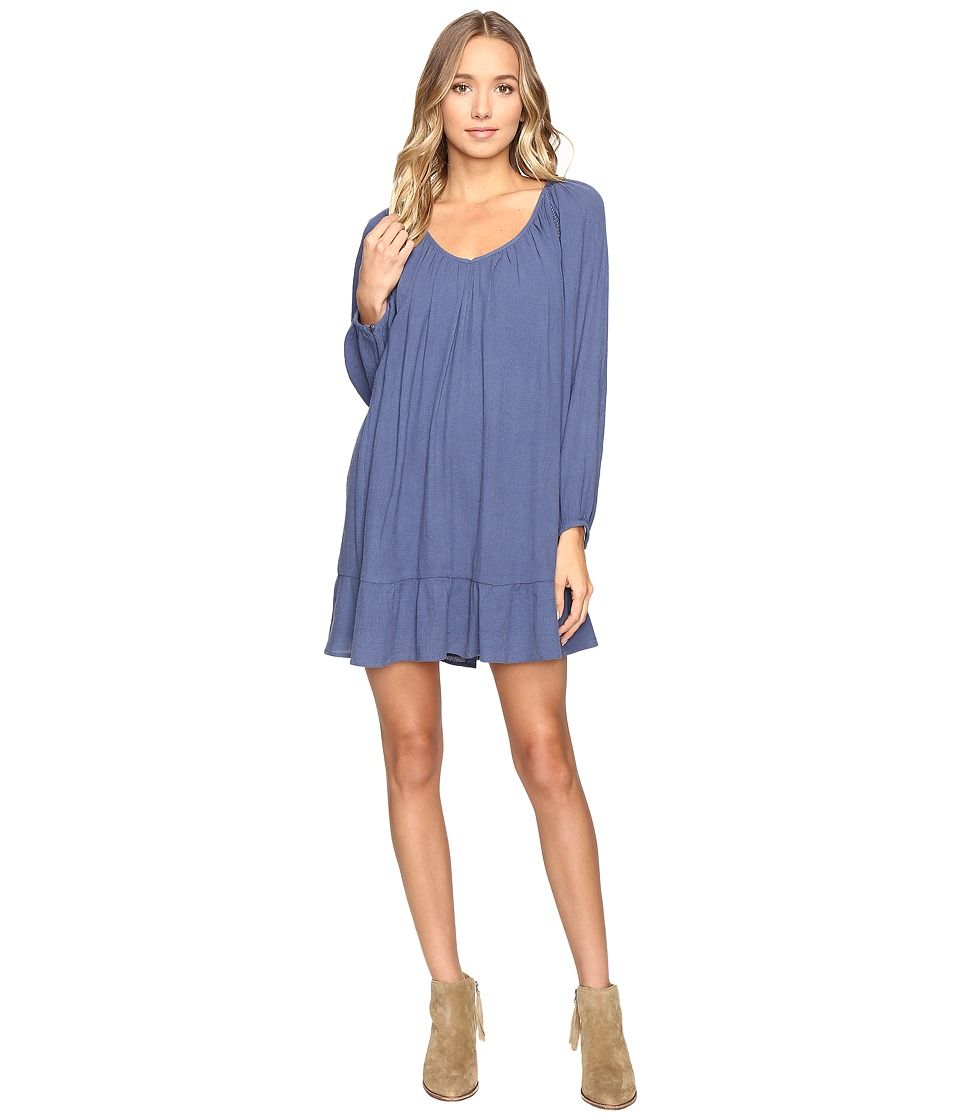 Roxy - Watch Tower Dress (True Navy) Women's Dress