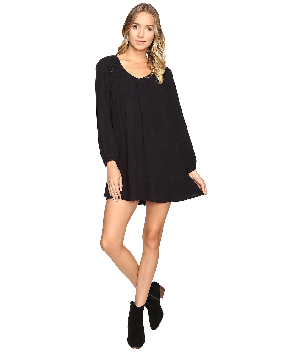 Roxy - Watch Tower Dress (True Black) Women's Dress