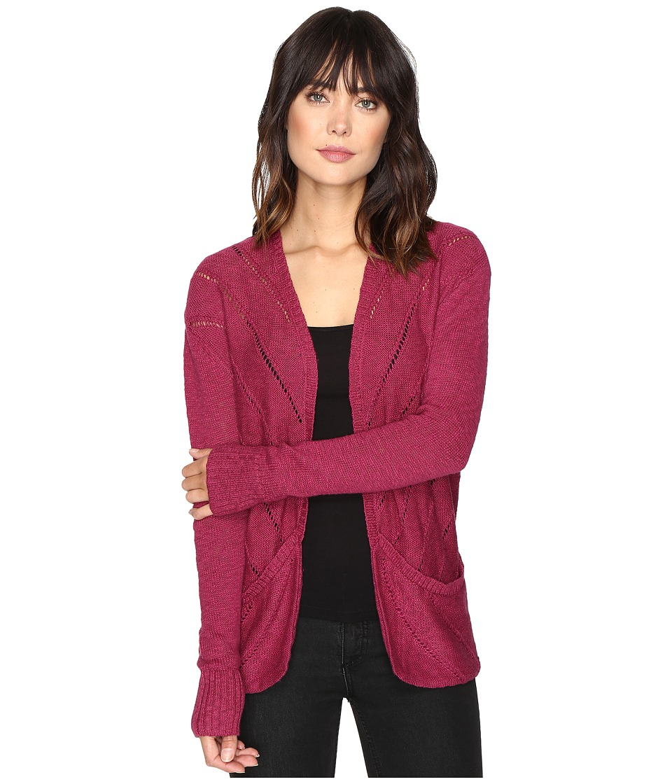 Roxy - Waiting on You Cardigan (Raspberry Radiance) Women's Sweater