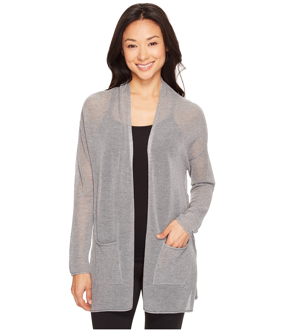 Lole - Marnie Cardigan (Medium Grey Heather) Women's Sweater