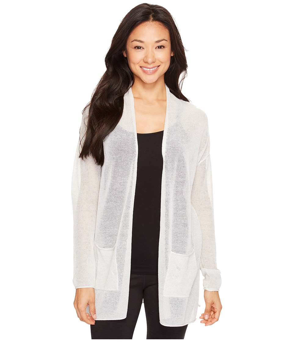 Lole - Marnie Cardigan (White Heather) Women's Sweater