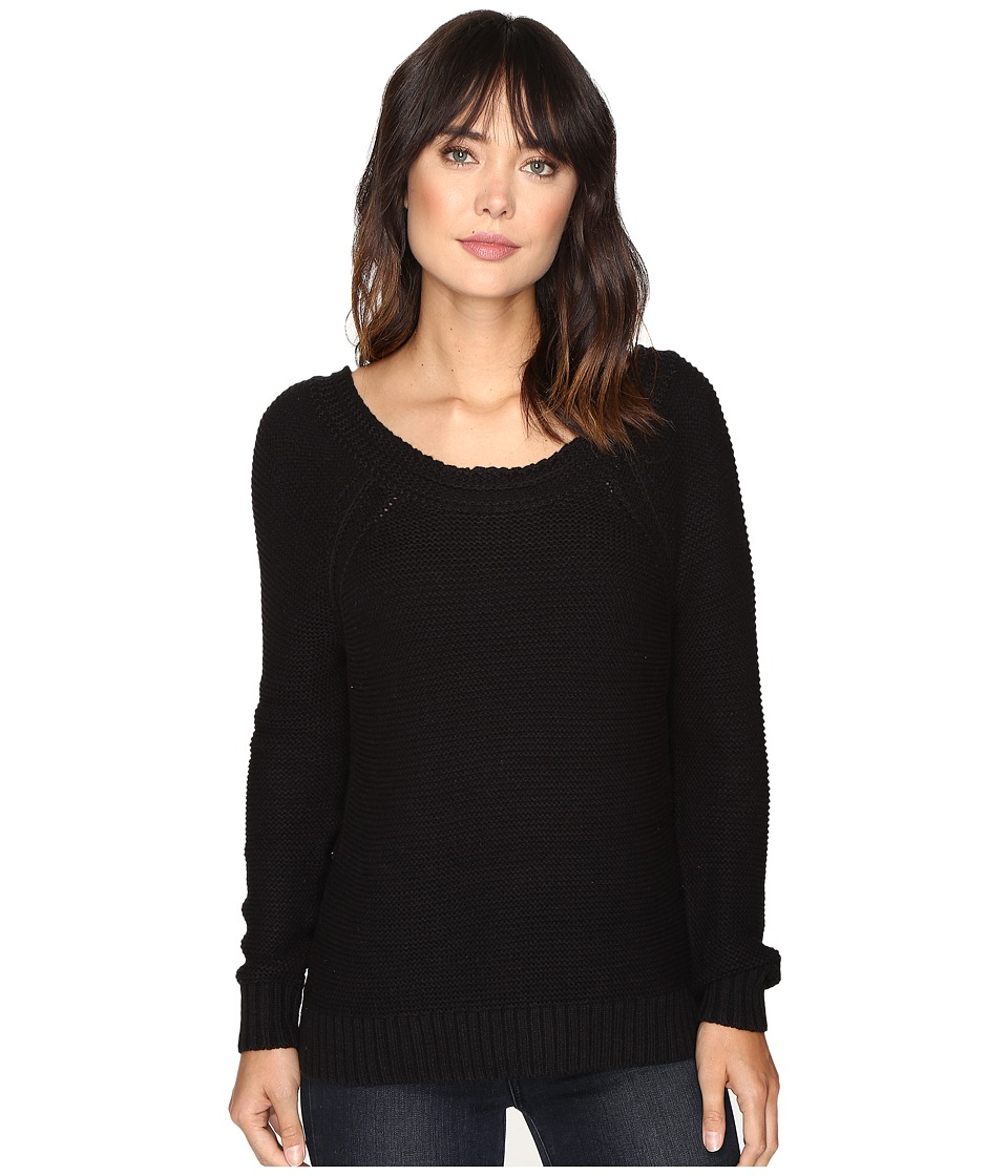 Roxy - Lost Coastlines Pullover (True Black) Women's Long Sleeve Pullover