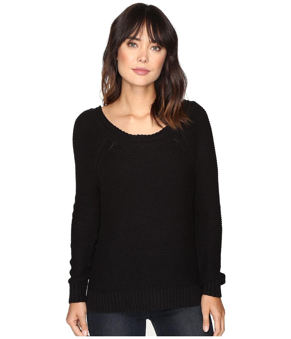 Roxy - Lost Coastlines Pullover (True Black) Women's Long Sleeve Pullover