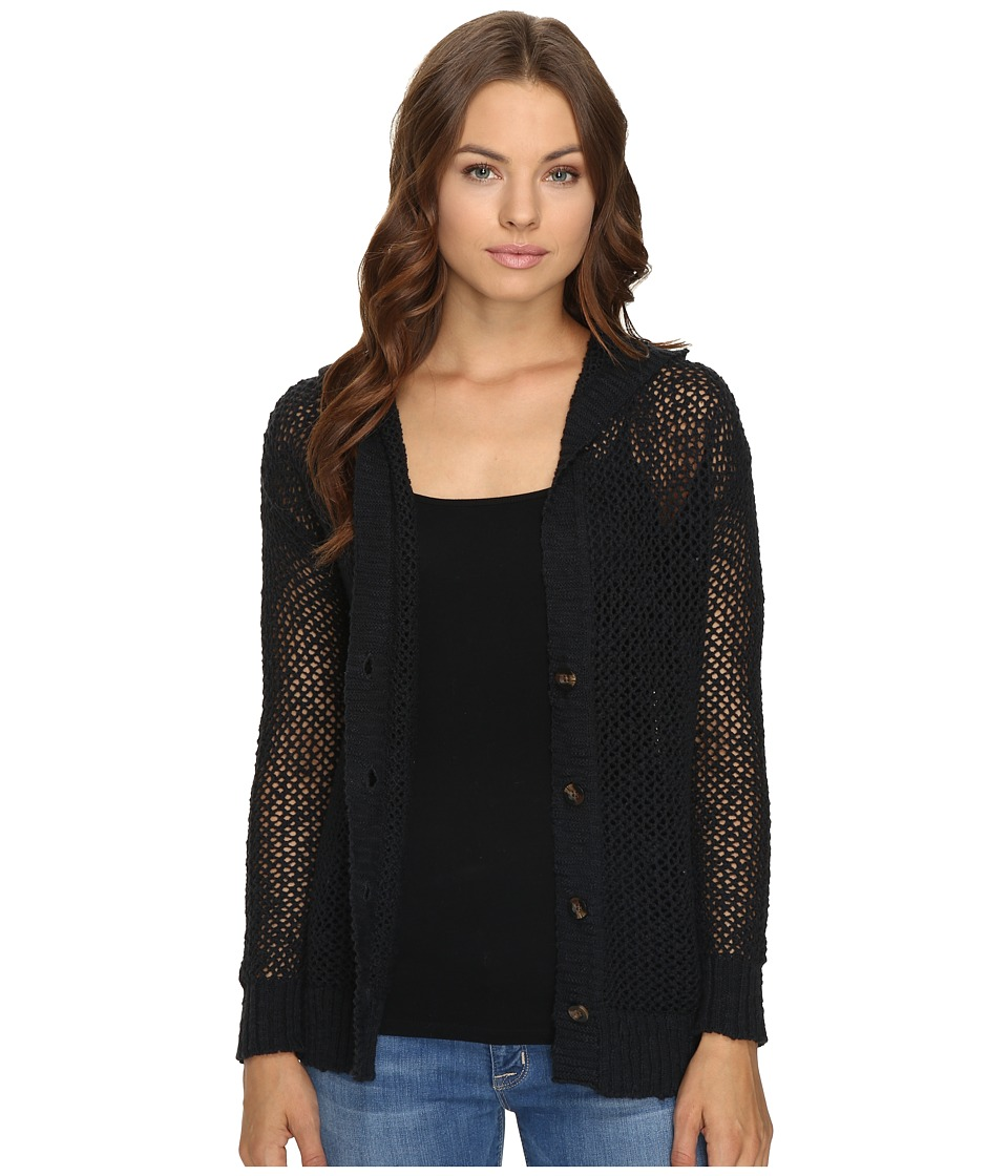 Roxy - Stay Awhile Cardigan (True Black) Women's Sweater