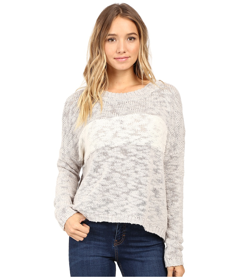 Roxy - Victory Dance Pullover (Heritage Heather) Women's Long Sleeve Pullover