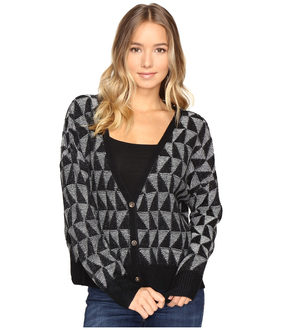 Roxy - Suns in Our Mind Cardigan (True Black) Women's Sweater