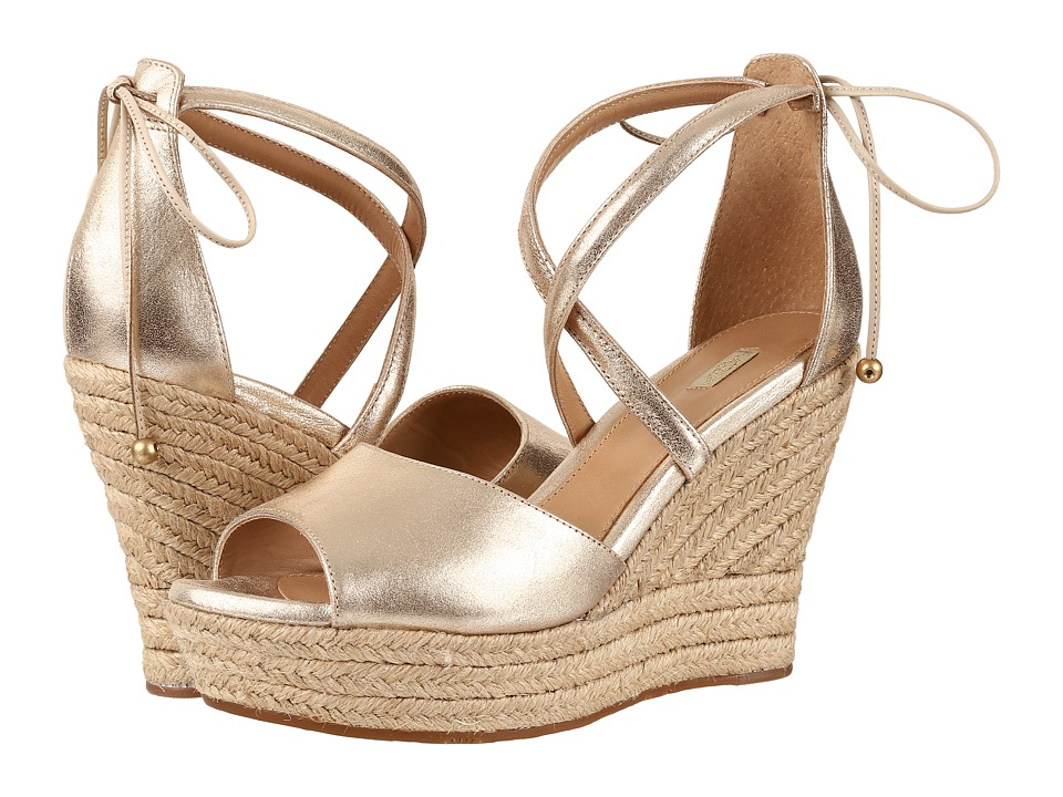 UGG - Reagan Metallic (Gold) Women's Wedge Shoes