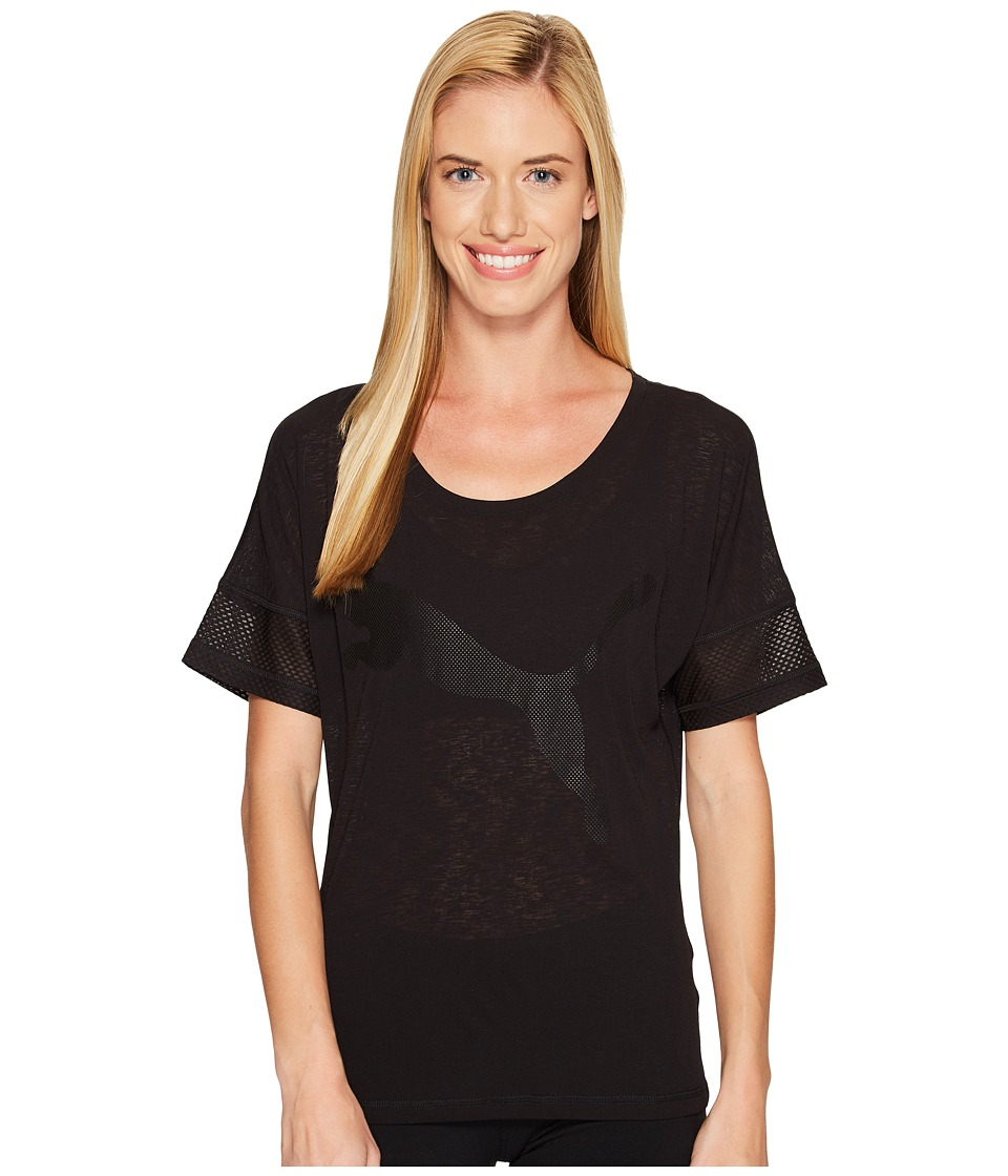 PUMA - Loose Tee (PUMA Black) Women's T Shirt