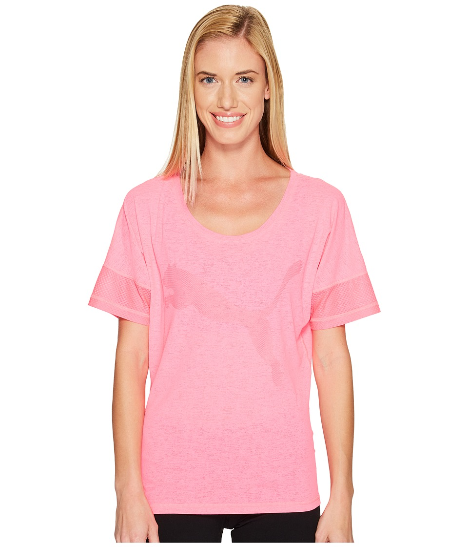 PUMA - Loose Tee (Knockout Pink) Women's T Shirt
