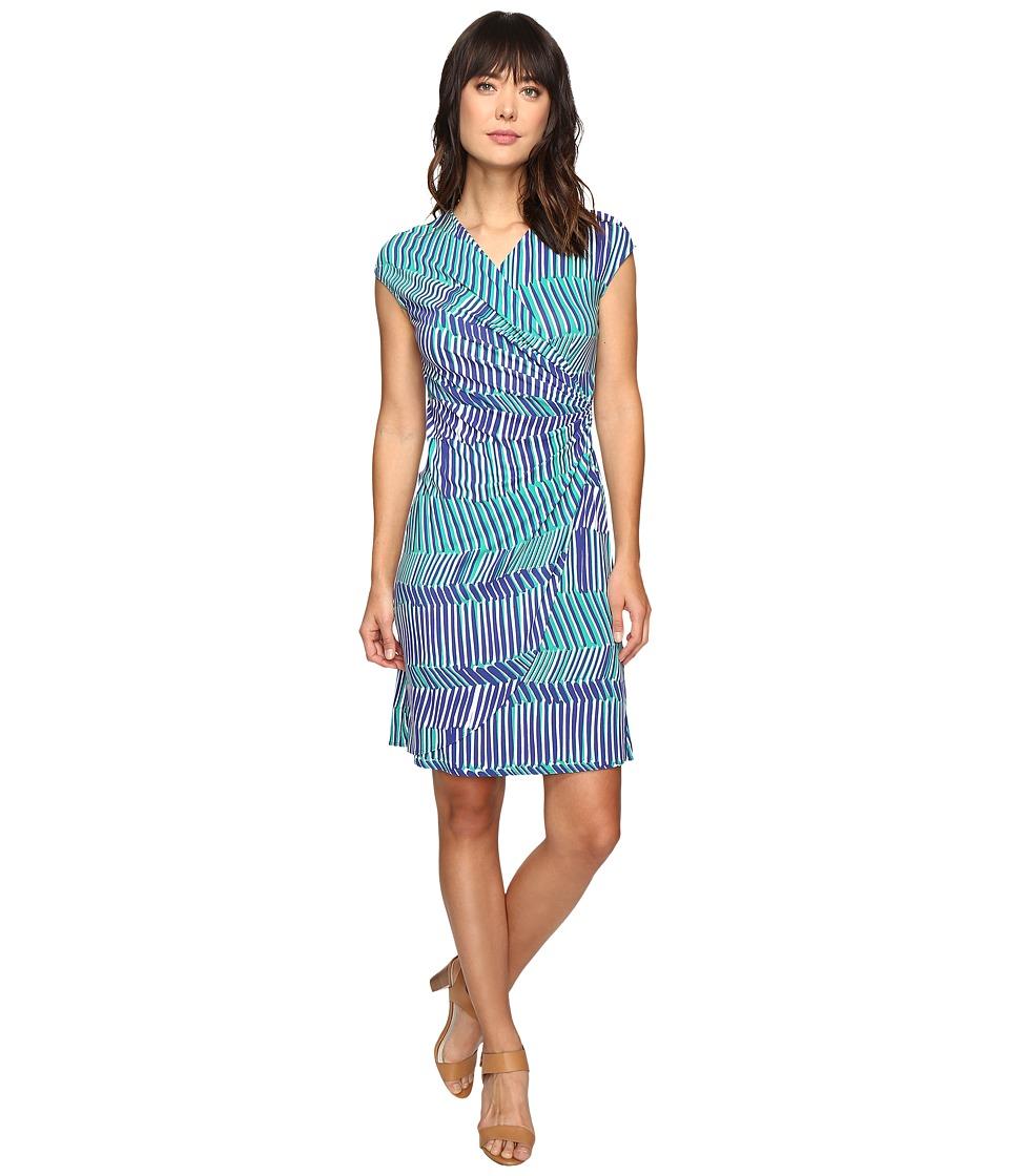 Tommy Bahama - Salvador Stripe Short Dress (Sapphire Night) Women's Dress